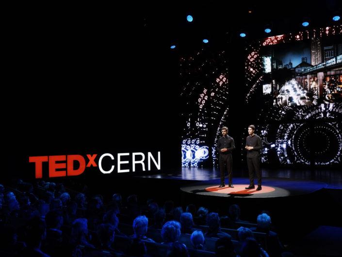 TedXCERN - 3d X 4k Screen